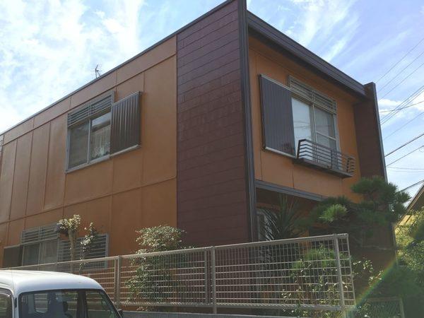 10/11完成です。福岡市東区青葉・B様邸 外壁塗装工事
