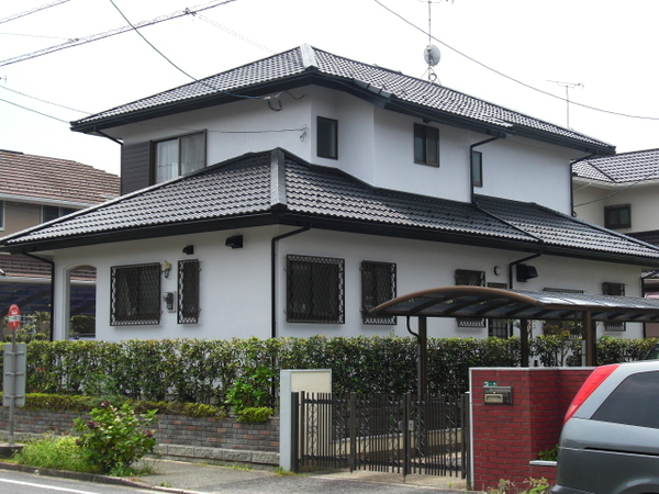 2/24完成です。筑紫野市・T様邸 外壁塗装・屋根塗装工事