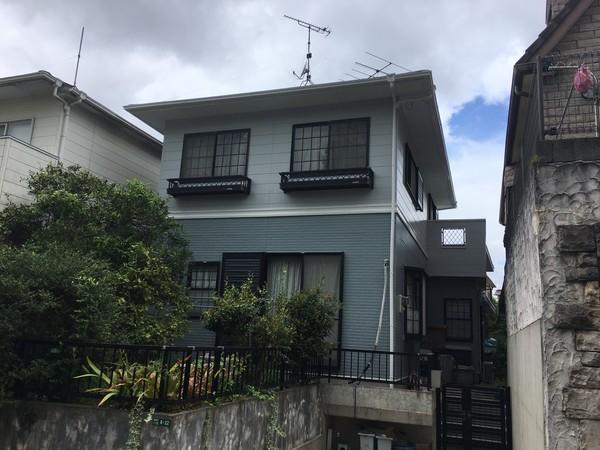 8/28完成です。太宰府市梅香苑・S様邸 外壁塗装・屋根塗装工事