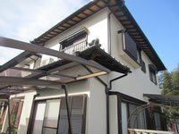 11/3日完成です。筑紫野市牛島・Y様邸 外壁塗装・屋根塗装工事