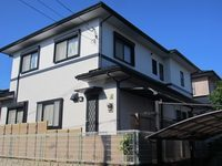 11/9完成です。筑紫野市天拝坂・S様邸 外壁塗装・屋根塗装工事
