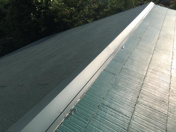 6月8日完了です。三養基郡基山町宮浦・A様邸 屋根塗装工事