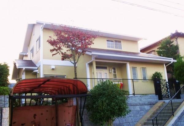 10/29完成です。筑紫野市美しが丘南・H様邸 外壁塗装・屋根塗装工事