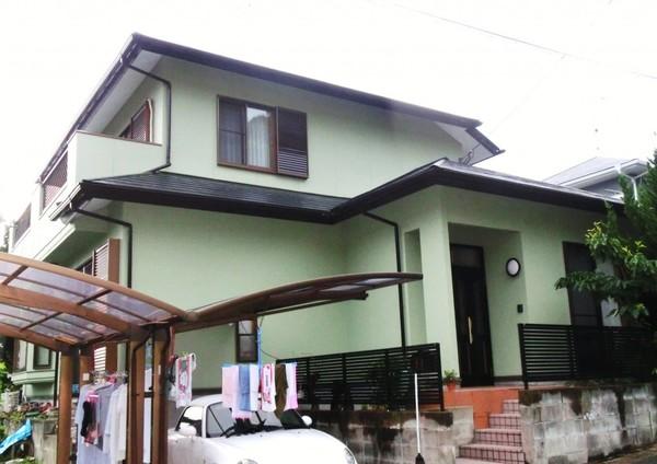 6月24日完成です。筑紫野市吉木・T様邸 外壁塗装・屋根塗装工事