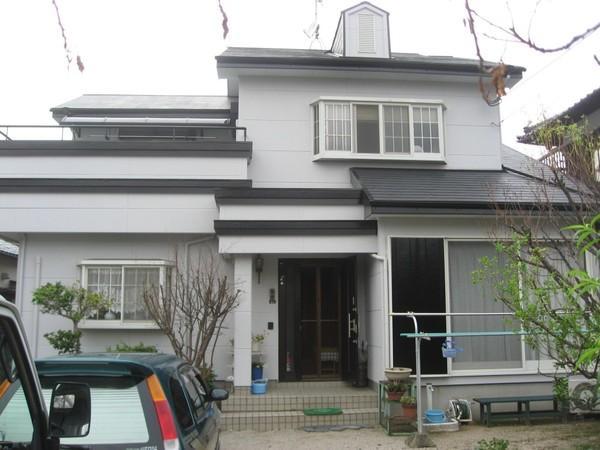 3/5完成です。春日市・H様邸 外壁塗装・屋根塗装工事