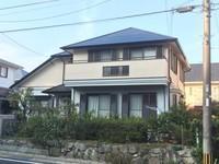 11月5日完成です。筑紫野市天拝坂・M様邸 外壁塗装・屋根塗装工事