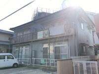 5/1完成です。太宰府市通古賀・Wアパート様 外壁塗装・屋根塗装工事