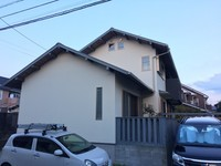 9/30完成です。太宰府市観世音寺・H様邸 外壁塗装工事