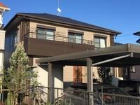 3/11完成です。朝倉郡筑前町・O様邸 外壁塗装工事・屋根塗装工事