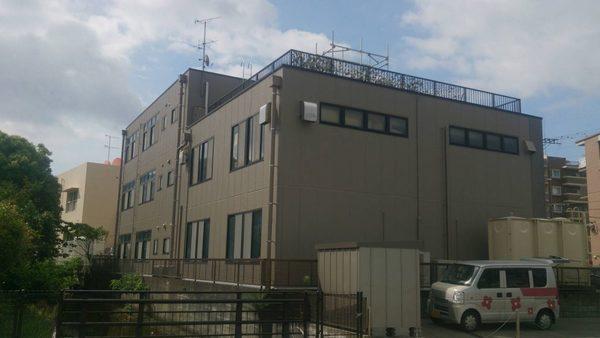 6/30完成です。大野城市乙金・㈱NSS様 外壁塗装工事