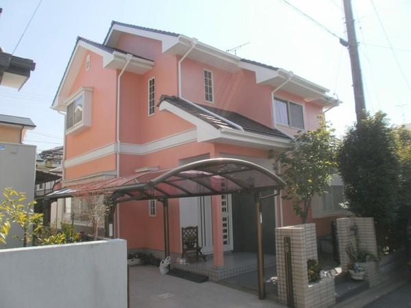 2/4完成です。大牟田市・M様邸 外壁塗装・屋根塗装工事