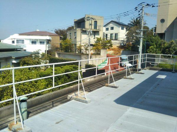 4/8完成です。福岡市中央区笹丘・M様邸 鉄部塗装・板金工事
