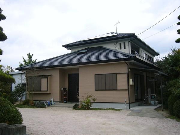 3/3完成です。筑紫野市・T様邸 外壁塗装・屋根塗装工事