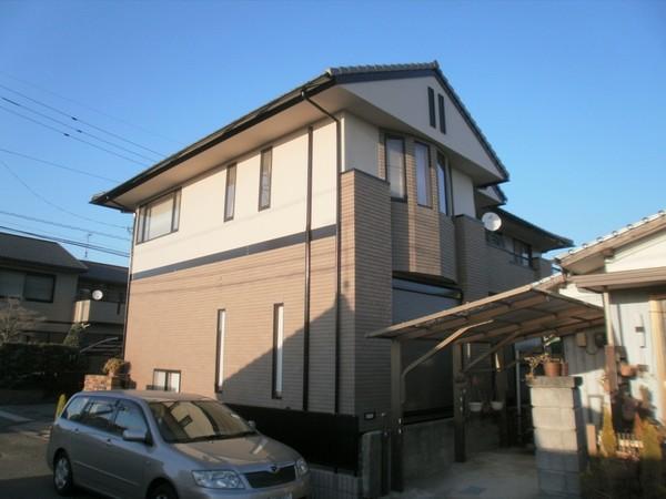 3/9完成です。太宰府市・M様邸 外壁塗装工事