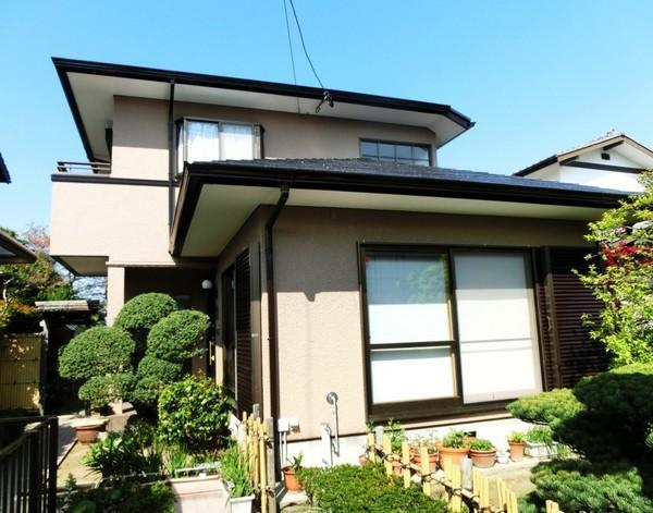 4/8完成です。太宰府市青山・H様邸 外壁塗装・屋根塗装工事