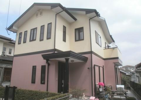 7/24完成です。 筑紫野市・I様邸 外壁塗装・屋根塗装工事