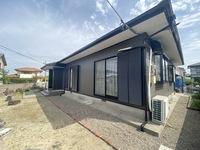 4/19完成です。朝倉郡筑前町・S様邸 外壁塗装・屋根塗装工事