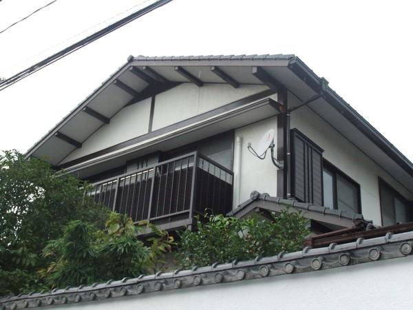 4/24完成です。太宰府市青山・U様邸 木部塗装工事