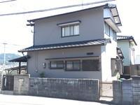 4/13完成です。太宰府市高雄・Y様邸 外壁塗装工事