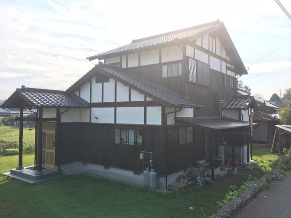 9/10完成です。筑紫野市吉木・S様邸 外壁塗装工事