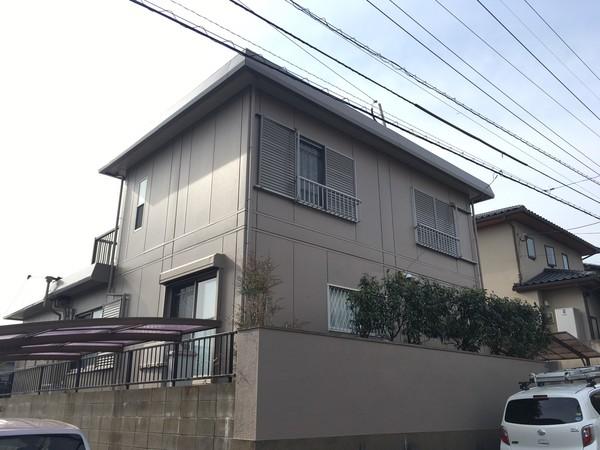 2/20完成です。太宰府市梅香苑・K様邸 外壁塗装・屋根塗装工事