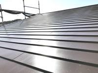 12/10完成です。福岡市東区舞松原・S様邸 屋根塗装・防水塗装工事