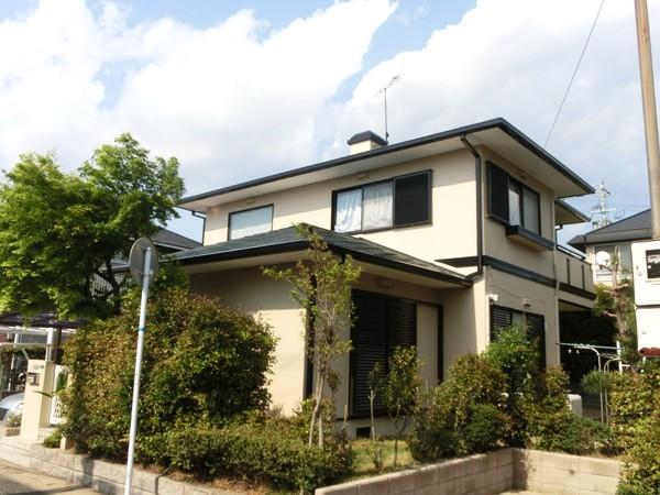 4/26完成です。宇美町四王子坂・K様邸 外壁塗装・屋根塗装工事