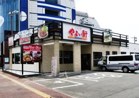 5/17完成です。佐賀県鳥栖市・やよい軒鳥栖店 外壁塗装工事