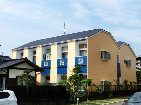 5月23日完成です。大野城市山田・ベルリーソ1・2様 外壁塗装・屋根塗装工事
