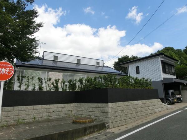 7/20完成です。太宰府市水城・F様邸 外壁塗装・屋根塗装工事