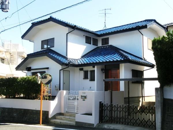 10月4日完成。太宰府市大佐野・K様邸 外壁塗装工事