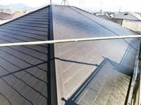 11月16日完成です。筑紫野市筑紫駅前通り・K様邸 外壁塗装・屋根塗装工事