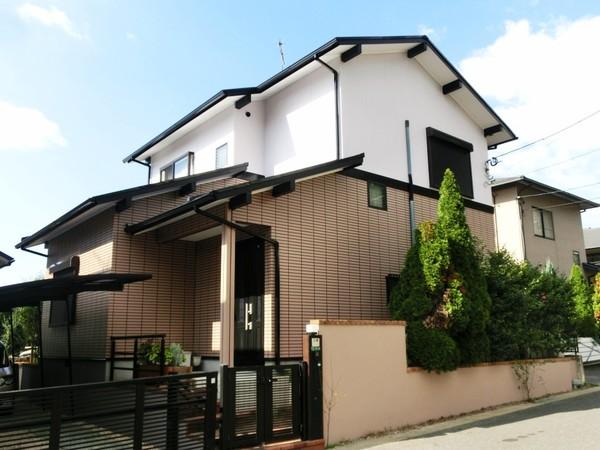 11月12日完成です。宇美町ゆりが丘・M様邸 外壁塗装・屋根塗装工事