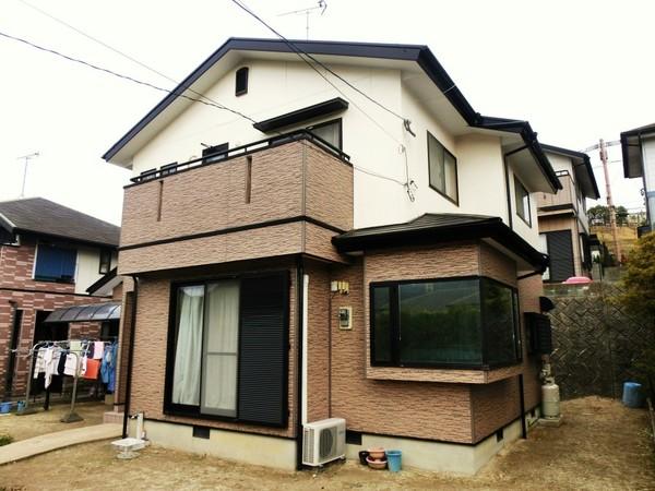 2月10日完了です。宇美町ゆりが丘・T様邸 外壁塗装・屋根塗装工事
