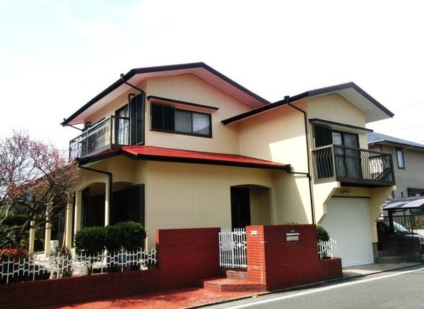 3/6完成です。太宰府市観世音寺・M様邸 外壁塗装・屋根塗装工事