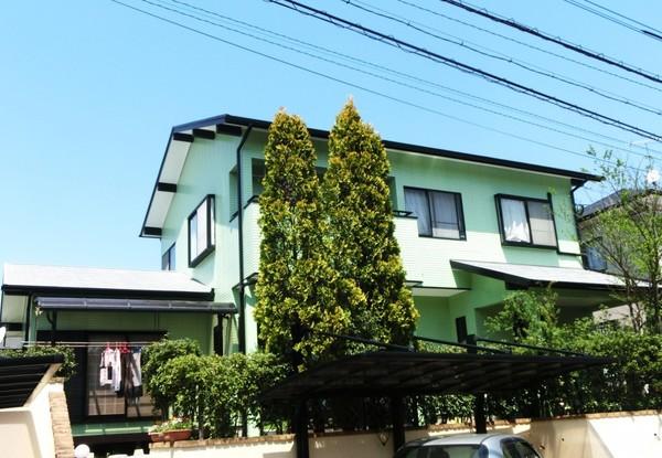 4/9完成です。宇美町ゆりが丘・K様邸 外壁塗装・屋根塗装工事