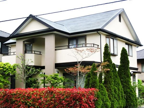 4月16日完成です。筑紫野市天拝坂・T様邸 外壁塗装・屋根塗装工事
