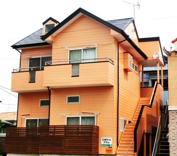 6/19完成です。太宰府市朱雀・エスポワールアブリィ様 外壁塗装・屋根塗装工事