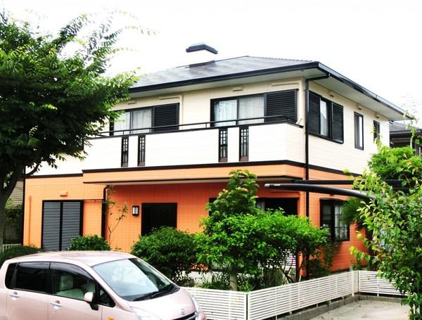 7月4日完成です。筑紫野市美しが丘南・M様邸 外壁塗装・屋根塗装工事