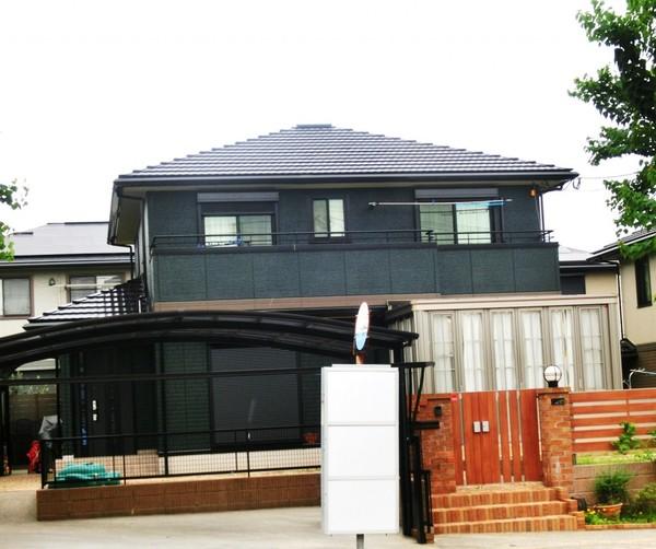 7/30完成です。小郡市希みが丘・M様邸 外壁塗装・屋根塗装工事