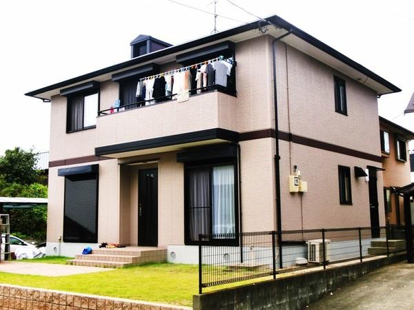9/17完成です。久留米市北野町・T様邸 外壁塗装・屋根塗装工事