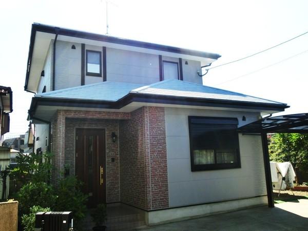 10/27完成です。筑紫野市永岡・M様邸 外壁塗装・屋根塗装工事