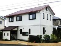 12月13日完成です。小郡市美鈴が丘・K様邸 外壁塗装・屋根塗装工事