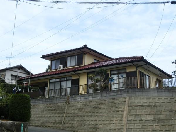 12月19日完成です。筑紫野市二日市北・H様邸 外壁塗装工事