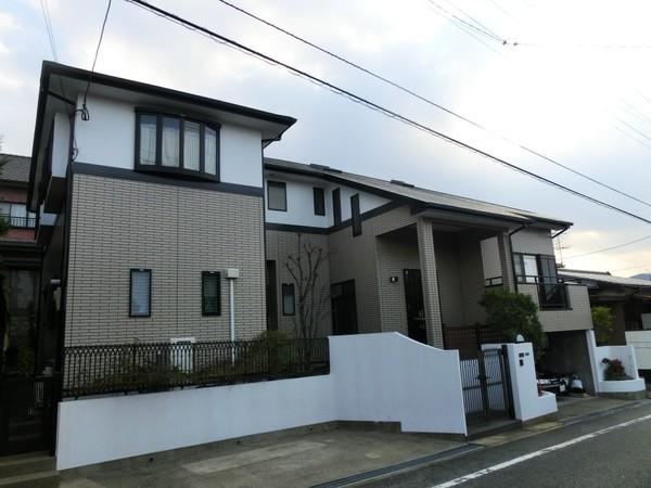 12/29完成です。太宰府市大佐野・H様邸 外壁塗装・屋根塗装工事