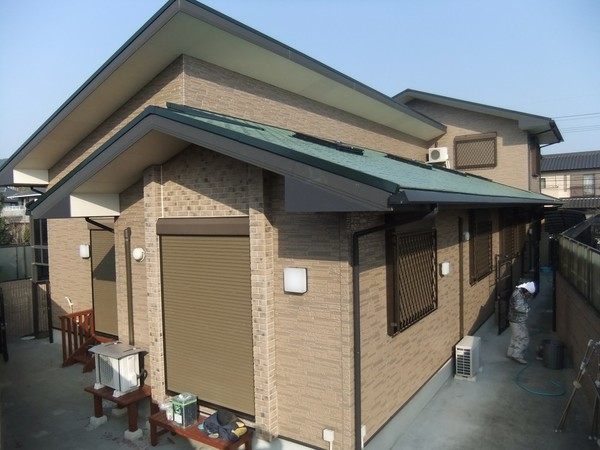 1月29日完成です。筑紫野市美しが丘・T様邸 外壁塗装・屋根塗装工事