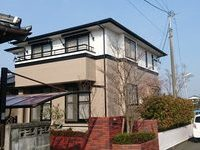 11/15完成です。小郡市西鰺坂・U様邸 外壁塗装・屋根塗装工事