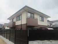 2/28完成です。筑紫野市二日市西・A様邸 外壁塗装・屋根塗装工事