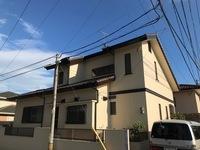 8/10完成です。太宰府市都府楼南・T様邸 外壁塗装工事