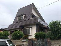 6/15完成です。福岡市東区舞松原・S様邸 外壁塗装工事